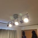 照明 スポットライト 天井照明 シーリング led電球6個付き