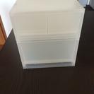 無印良品 ポリプロピレン 収納ボックス 二個
