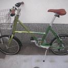 新品同様 使用回数少 20インチ ベロ自転車