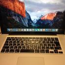 """【中古】MacBook Pro """"15(電源アダプタ/コード付属なし)"""