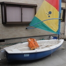 アシックス製小型ヨット