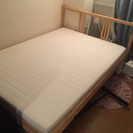 IKEAダブルベッド【定価20000円】