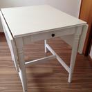 IKEAの折り畳みダイニングテーブルSET!