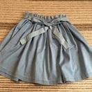 美品❗️  ジルスチュアートのダンガリーのスカート