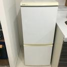 シャープ  2ドア 冷凍冷蔵庫  SJ-S14K