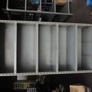 スチールラック 外寸885mm*455mm*1810mm 両側面板...