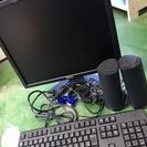 PCモニター×キーボード×スピーカーセット