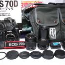 ●付属品充実●極上美品 Canon キャノン EOS 70D Wレ...