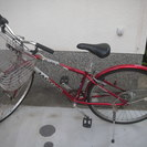 27インチ 6段変速 自転車
