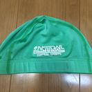 セントラルスポーツ水泳帽(緑)