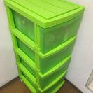 【0円】収納ケース ライトグリーン