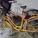 6段変速!オレンジ自転車