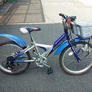 男の子用自転車 ブリジストン  20インチ 5段変速