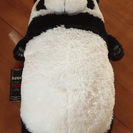 フワフワ気持ち良いパンダの縫いぐるみ
