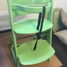 子供用 椅子 ハイチェア 説明書付き 中古品