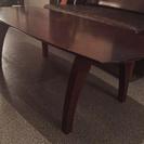 【終了致しました】木製デザインテーブル