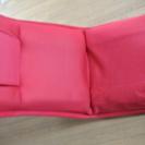D2ヘッドリクライニング座椅子 赤 汚れあり