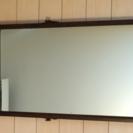 アンティーク調の掛け鏡