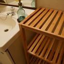 【終了致しました】竹製のデザイン棚