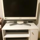 SHARP 26インチテレビ+テレビ台セット