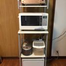 キッチンラック+ゴミ箱セット【無料】