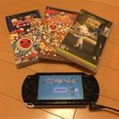 【商談中】PSPすぐ遊べるセット☆ソフト3本付き