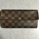 ヴィトン ダミエの長財布