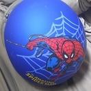 スパイダーマンのバイクヘルメット