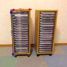A4用紙整理棚 2台1セット