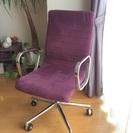 《お取引中》パソコンチェアー 紫色