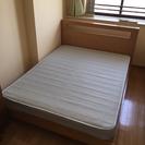 ベッド・フレーム ウエスト・エルム社製 マットレス付 (中古)
