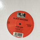 レコード「BLACK MACHINE/ HOW-GEE」