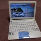 パソコン 10.1インチ Win7 HDD250GB (美品)