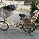【お取引中】子供乗せ自転車 座席付き