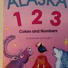 英語のアラスカの絵本 定価7.95ドル