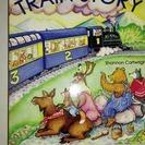 英語のアラスカ列車の絵本 定価8.95ドル