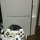 (24日まで受け付け)PS3 ホワイト(リモコン付)