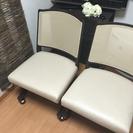 ニトリの椅子2脚