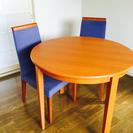 ダイニング丸テーブル