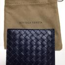 未使用 ボッテガヴェネタ 二つ折り財布