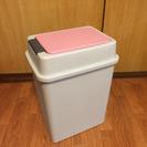 プラスチックゴミ箱 フタ開閉タイプ