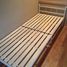 折り畳みシングルすのこベッド