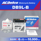 DB9L-B 新品 ACデルコ カワサキ  ホンダ バイク用バッテ...