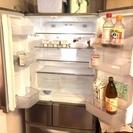 401リットル、6ドアの超静音の冷蔵庫売ります。【期限】7月22日(金)