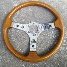 旧車? ウッドハンドル 日本製