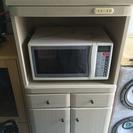 キッチン 電子レンジ台 炊飯器台