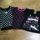 子供黒Tシャツセット☆