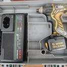 充電式インパクトドライバー日立WH12DMRセット中古品