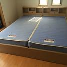 【値下げしました!】宮付きシングルベッド(2台あります)