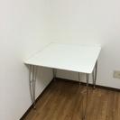 シンプルデザイン☆  テーブル  ホワイト